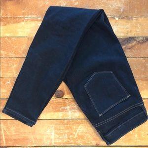 GAP Dark Denim Curvy Skinny Jeans 30L